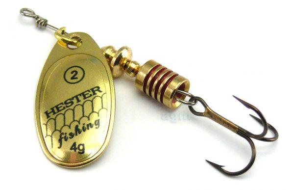 Hester Ospray Spinner 4g - Brass