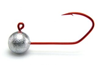 AGM Finesse Sickle Jig Head 3g - Size 2 RED (5pcs)