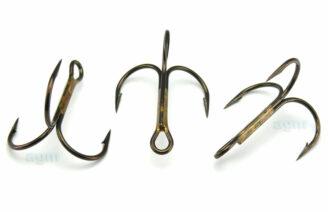 VMC 9649 BZ Treble Hook - Size 1/0 (5pcs)
