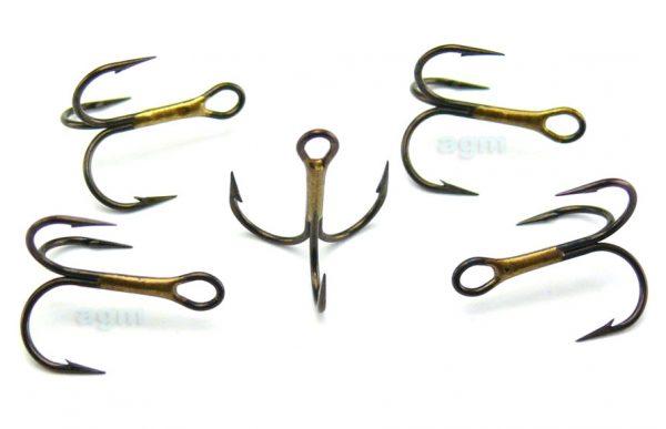 VMC 9649 BZ Treble Hook - Size 10 (10pcs)