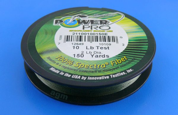 PowerPro braid 10lb (150yds) - Moss Green