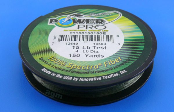 PowerPro braid 15lb (150yds) - Moss Green