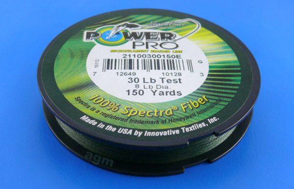 PowerPro braid 30lb (150yds) - Moss Green
