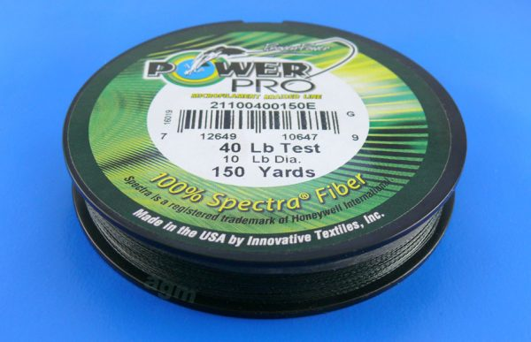 PowerPro braid 40lb (150yds) - Moss Green
