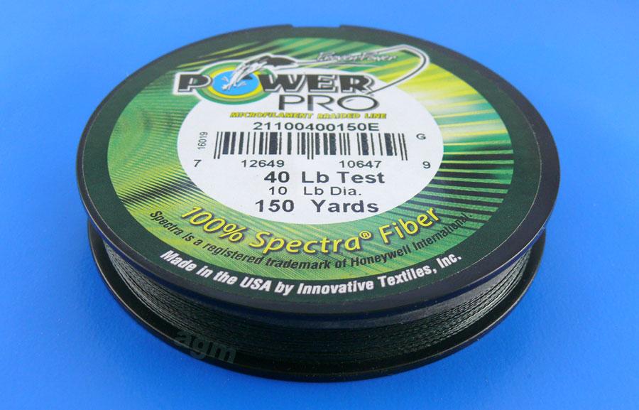 PowerPro braid 40lb (150yds) - Moss Green