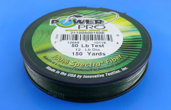 PowerPro braid 50lb (150yds) - Moss Green