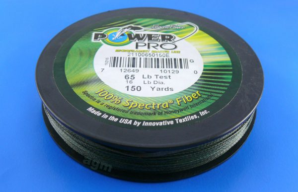 PowerPro braid 65lb (150yds) - Moss Green