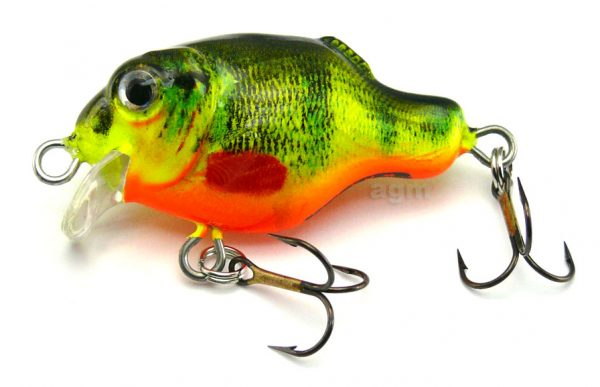"Hester 1.6"" Guppy - Hot Perch"
