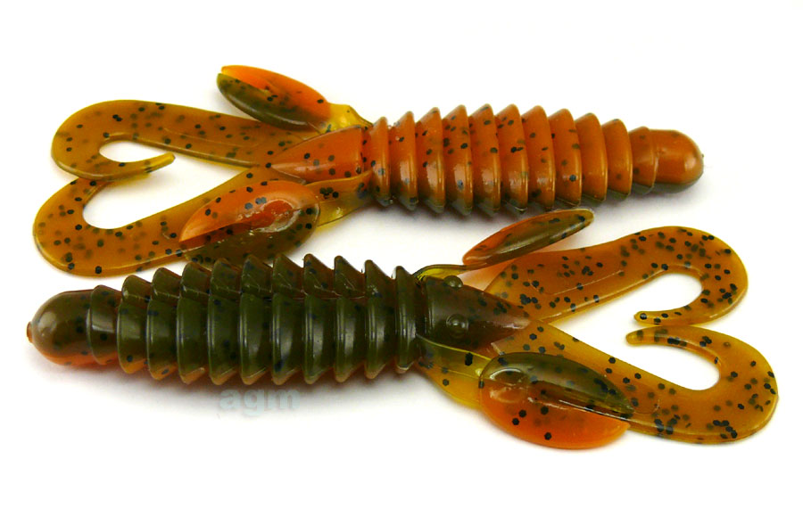 "Big Bite 4"" Swimming Mama - Alabama Craw (8pcs)"