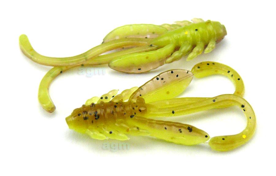 """Crazy Fish 1.1"""" Allure - 30D Caddisfly Pupa (10pcs)"""