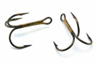 VMC 9649 BZ Treble Hook - Size 2/0 (5pcs)