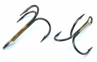 VMC 9649 BZ Treble Hook - Size 3/0 (5pcs)