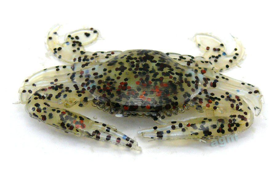 """Rip Tide 2"""" Realistic Crab - Soft Shell Crab (4pcs)"""
