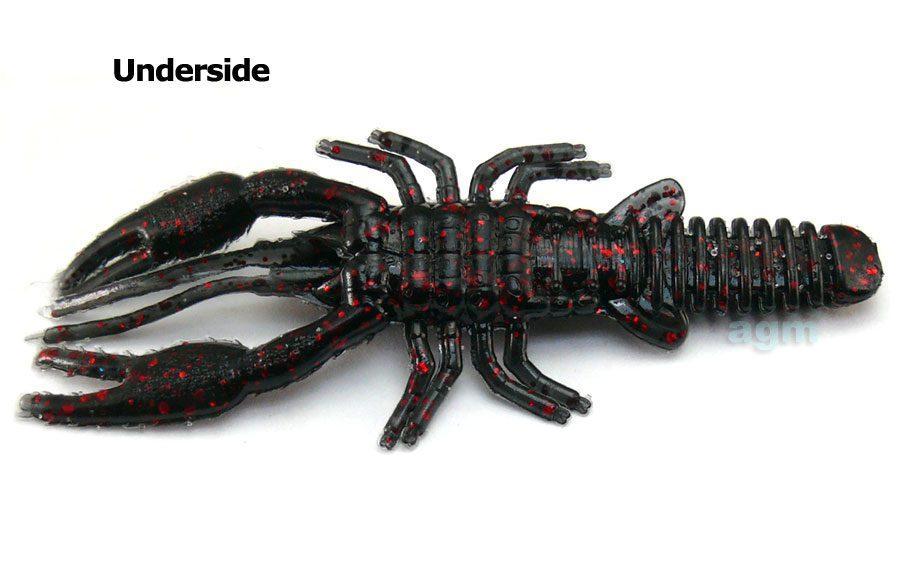 """AGM 3"""" Crayfish - Black Red Flake (8pcs)"""