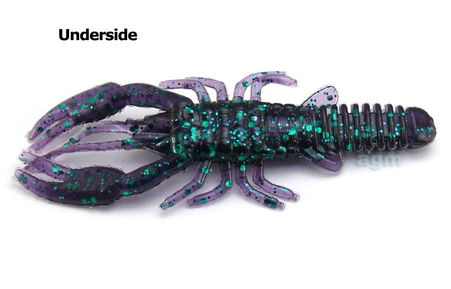 """AGM 3"""" Crayfish - Junebug (8pcs)"""
