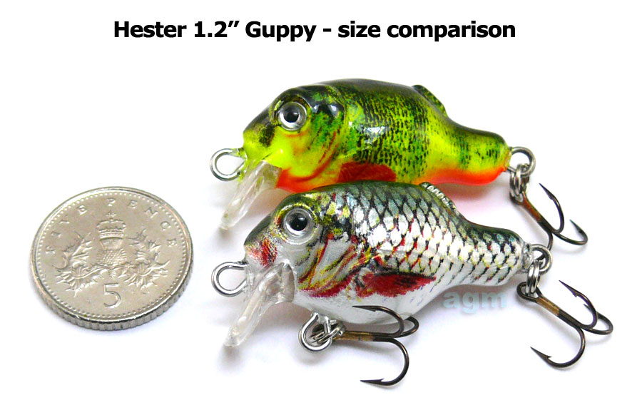 "Hester 1.2"" Guppy - Roach"