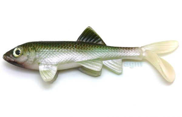 "Berkley Havoc 4"" Sick Fish - Green Penny (2pcs)"