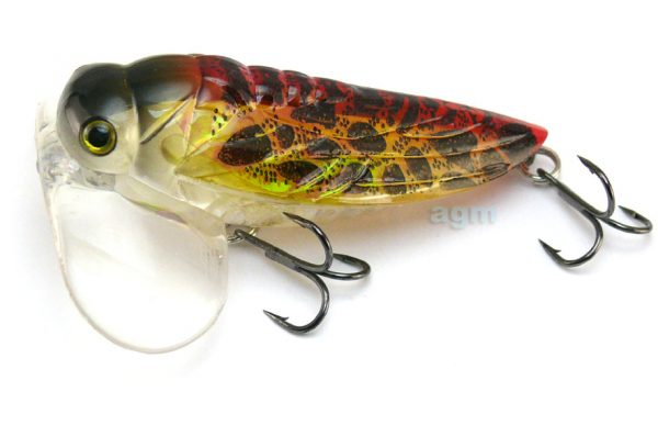 Fish House Lures Crazy K - Brown Black Wing