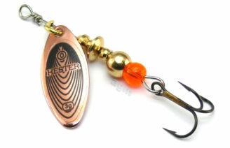 Hester Willow Spinner 3g - Copper/Black