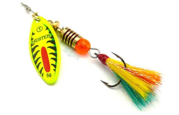 Hester Willow Fly Spinner 5g - Firetiger