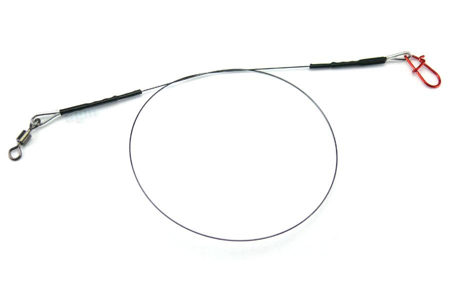"""Profi-Blinker Titanium Wire Trace 12"""" x 12kg/26lb"""