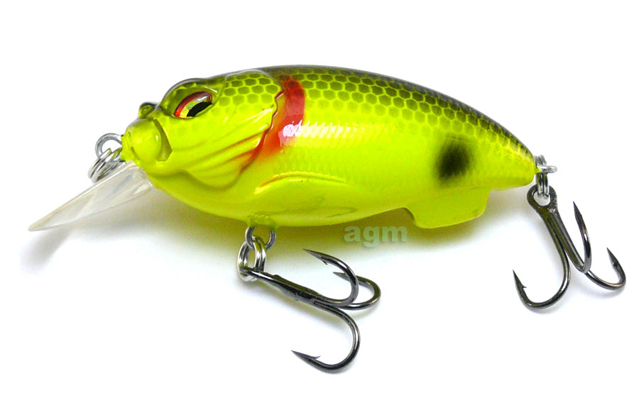 Fish House Lures Witch - Chartreuse/Black