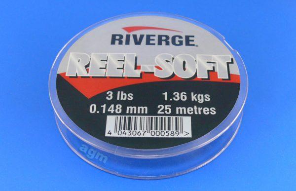 Riverge Reel-Soft 100% Fluorocarbon Line - 3lb/1.4kg x 25m