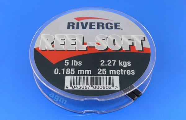 Riverge Reel-Soft 100% Fluorocarbon Line - 5lb/2.3kg x 25m