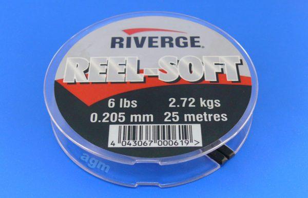 Riverge Reel-Soft 100% Fluorocarbon Line - 6lb/2.7kg x 25m