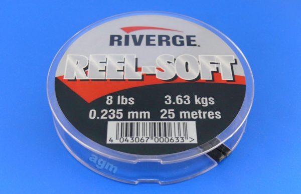 Riverge Reel-Soft 100% Fluorocarbon Line - 8lb/3.6kg x 25m