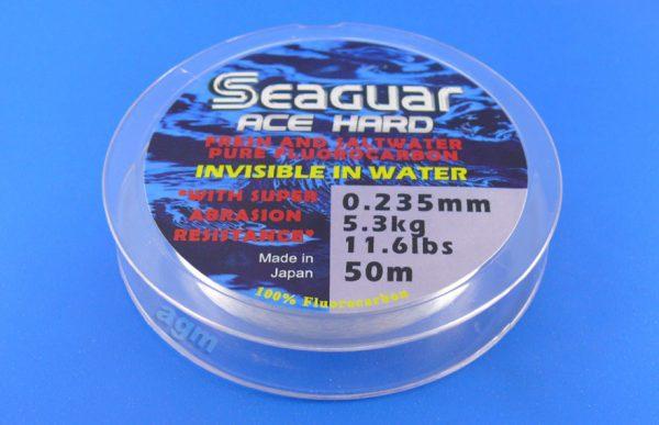 Seaguar Ace Hard Fluorocarbon Leader - 11.6lb/5.3kg x 50m