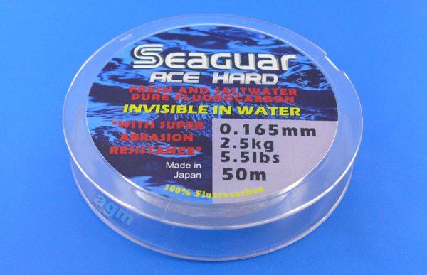 Seaguar Ace Hard Fluorocarbon Leader - 5.5lb/2.5kg x 50m