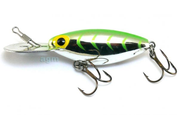 "Storm 2.75"" Hot N Tot - Met. Silver/Lime Green HB"