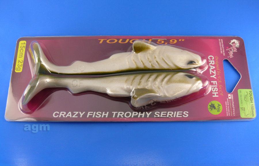 "Crazy Fish Trophy Series 5.9"" Tough - CP05 Ayu (2pcs)"