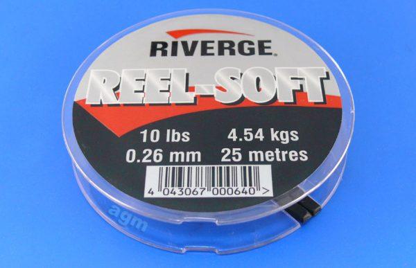 Riverge Reel-Soft 100% Fluorocarbon Line - 10lb/4.5kg x 25m