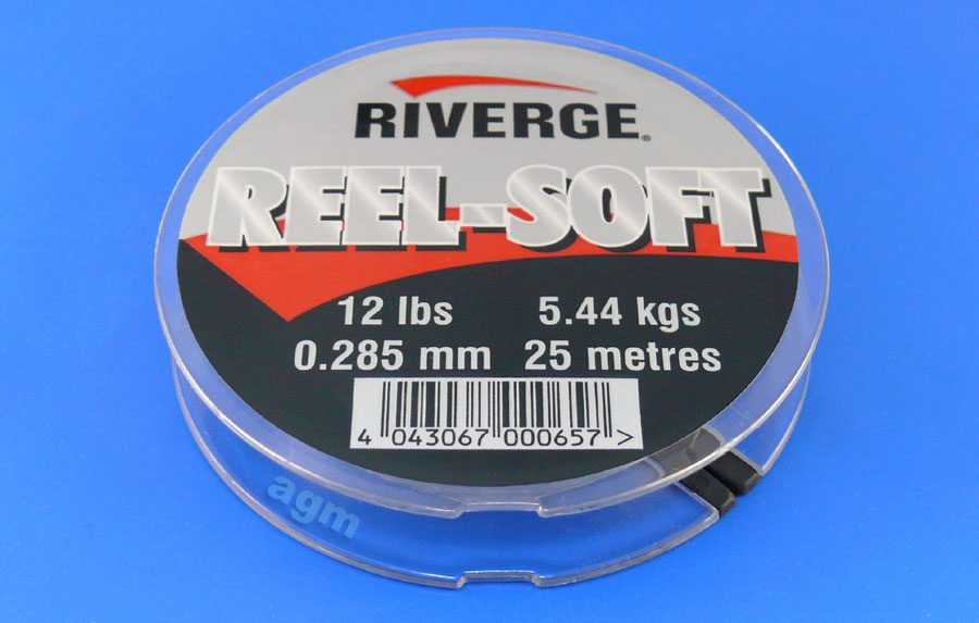 Riverge Reel-Soft 100% Fluorocarbon Line - 12lb/5.4kg x 25m