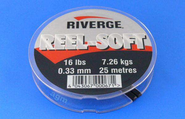 Riverge Reel-Soft 100% Fluorocarbon Line - 16lb/7.3kg x 25m