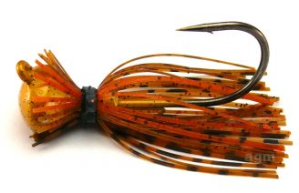Terminator Football Jig 19g - Pumpkin Orange