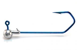 Profi-Blinker Round Jig Head 12g Blue - Size 8/0 (2pcs)