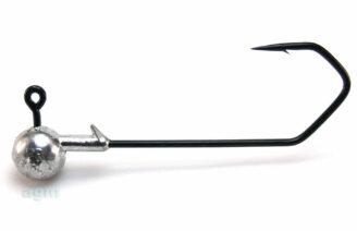 Profi-Blinker Round Jig Head 14g Black - Size 7/0 (3pcs)