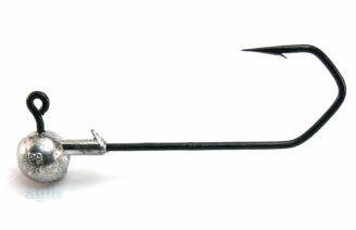 Profi-Blinker Round Jig Head 19g Black - Size 8/0 (2pcs)