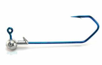 Profi-Blinker Round Jig Head 8g Blue - Size 7/0 (3pcs)
