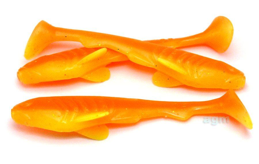 """Crazy Fish 2.8"""" Tough - 18D Citrus (5pcs)"""