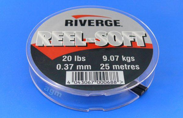Riverge Reel-Soft 100% Fluorocarbon Line - 20lb/9kg x 25m