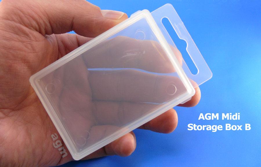 AGM Midi Storage Box B (85 x 60 x 20mm)