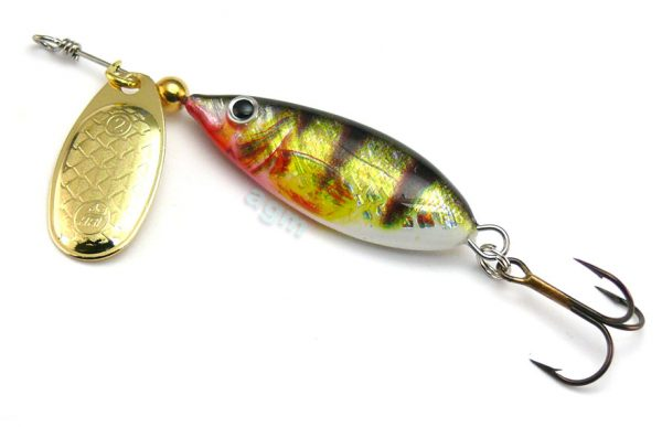 Hester Devil Spinner 7g - Holo Perch/Gold