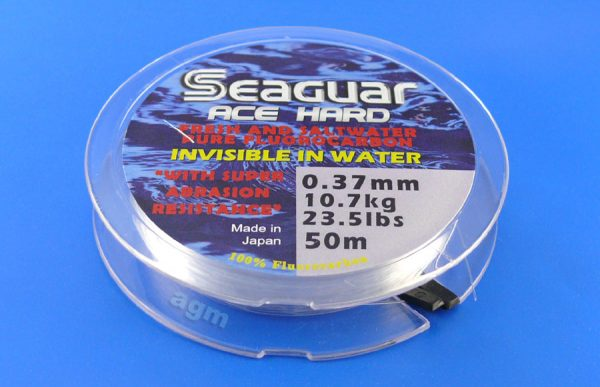 Seaguar Ace Hard Fluorocarbon Leader - 23.5lb/10.7kg x 50m