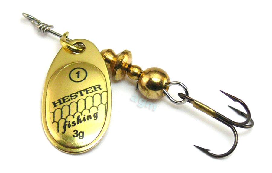 Hester Ospray Spinner 3g - Brass