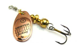 Hester Ospray Spinner 3g - Copper