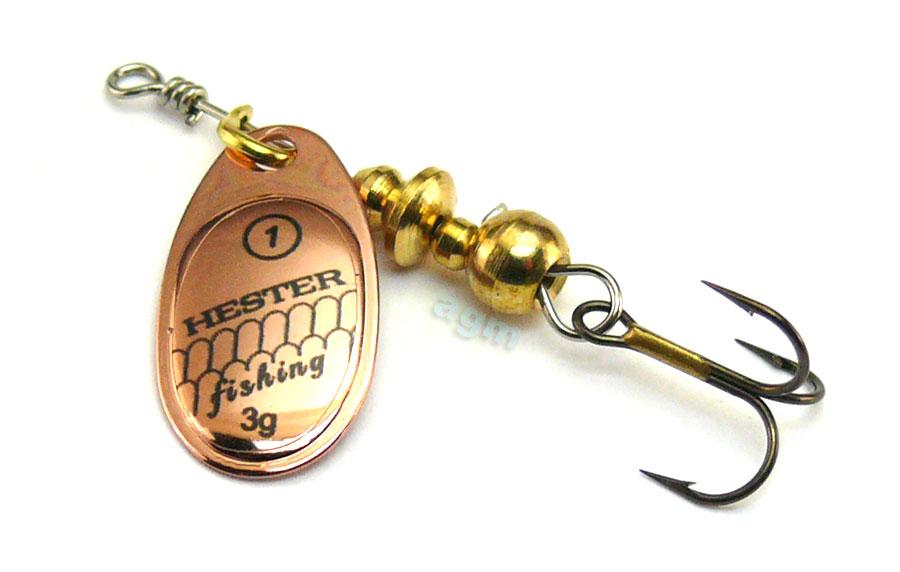 Hester Ospray Spinner 3g - Copper